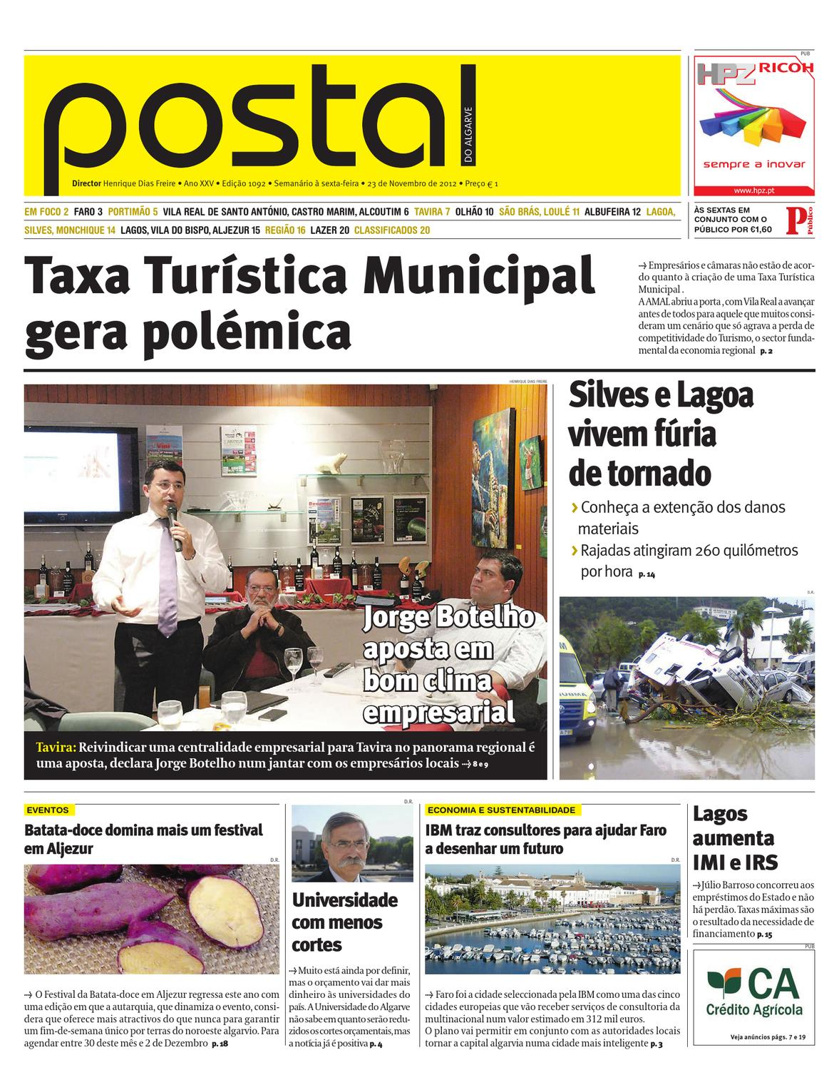 Postal23NOV1092 by POSTAL do ALGARVE - issuu 5ca8e830c0095