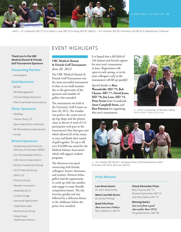 UBC Medicine fall 2012 by UBC Faculty of Medicine - issuu