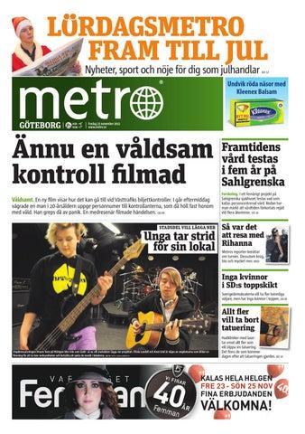 online retailer 6fc86 caee0 20121123 se goteborg by Metro Sweden - issuu