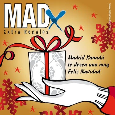 Revista MadX Regalos Navidad 2012 - Madrid Xanadú compras 33e162980cb