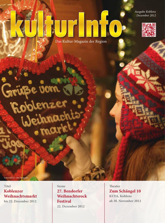 KulturInfo Ausgabe 12-2012 by Kulturverlag Günther Schmitz - issuu