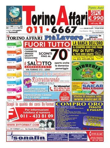 Torino Affari Nr 43 By Maura Benassi Issuu