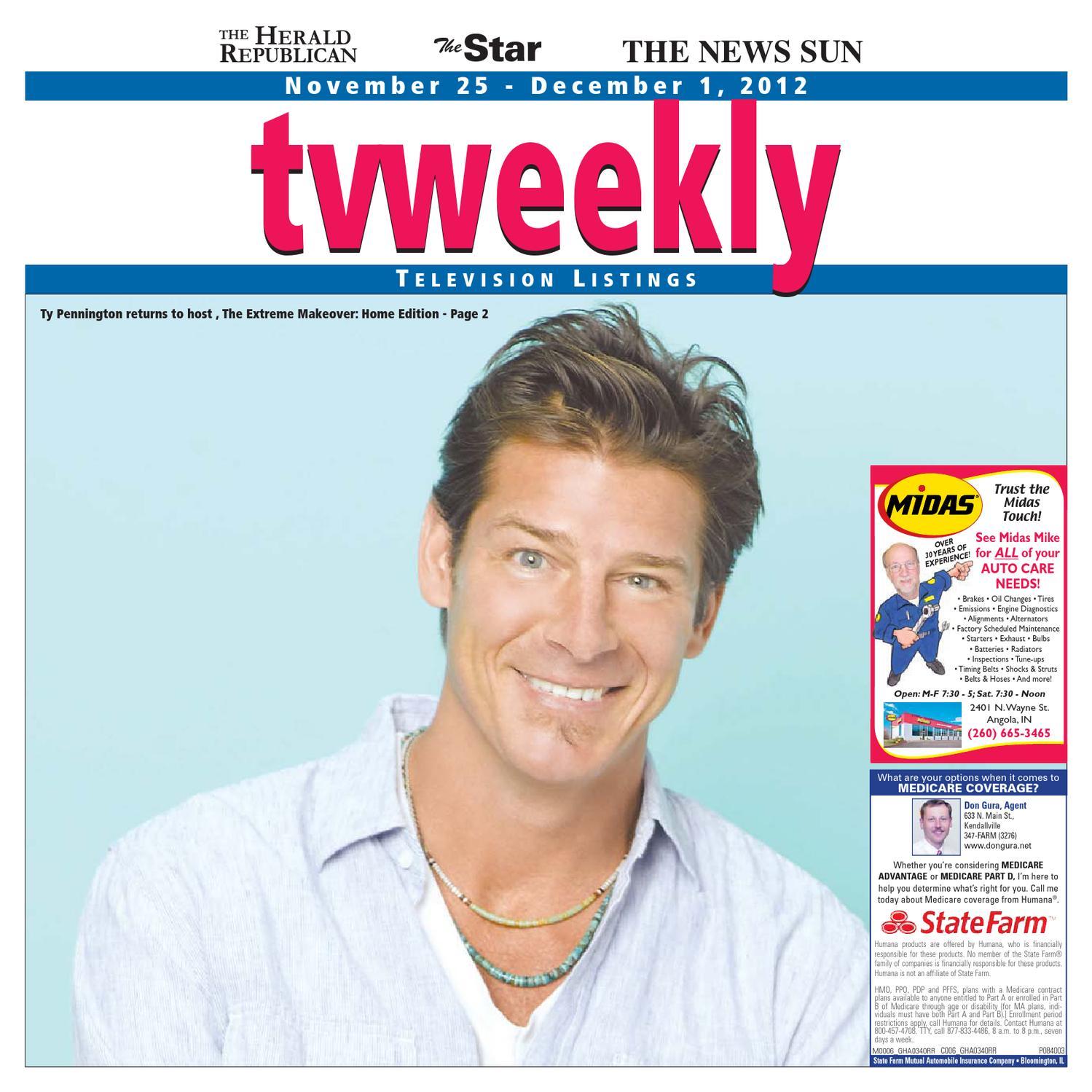 Tv Weekly Nov 25 2012 By Kpc Media Group Issuu