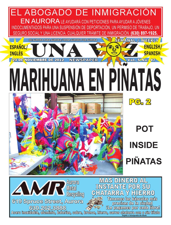 Edición del 23 al 29 de noviembre de 2012 by Una Voz