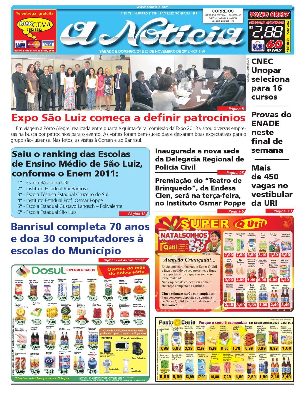 2941291d88 Edição de 24 e 25 de novembro de 2012 by Jornal A Notícia - issuu