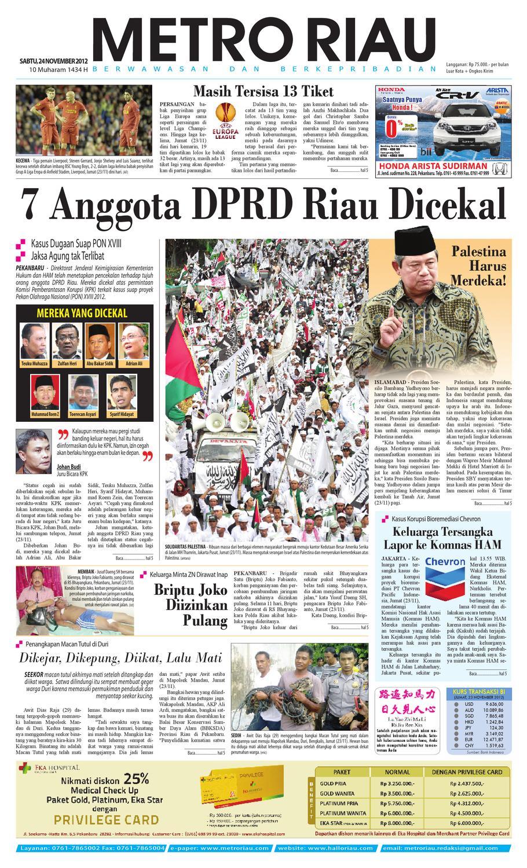 241112 By Harian Pagi Metro Riau Issuu Kemeja Anak Tangan Panjang Kotak Orange Variasi 78 Rsby 2854