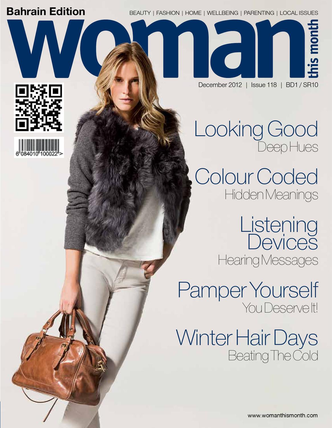 b787405b6d Woman This Month - December 2012 by Red House Marketing - issuu