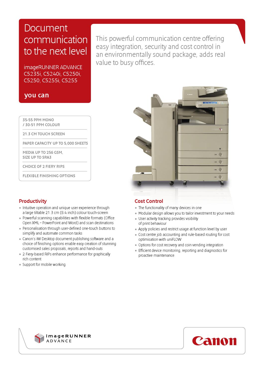 canon-c5255-brochure by nick lyons