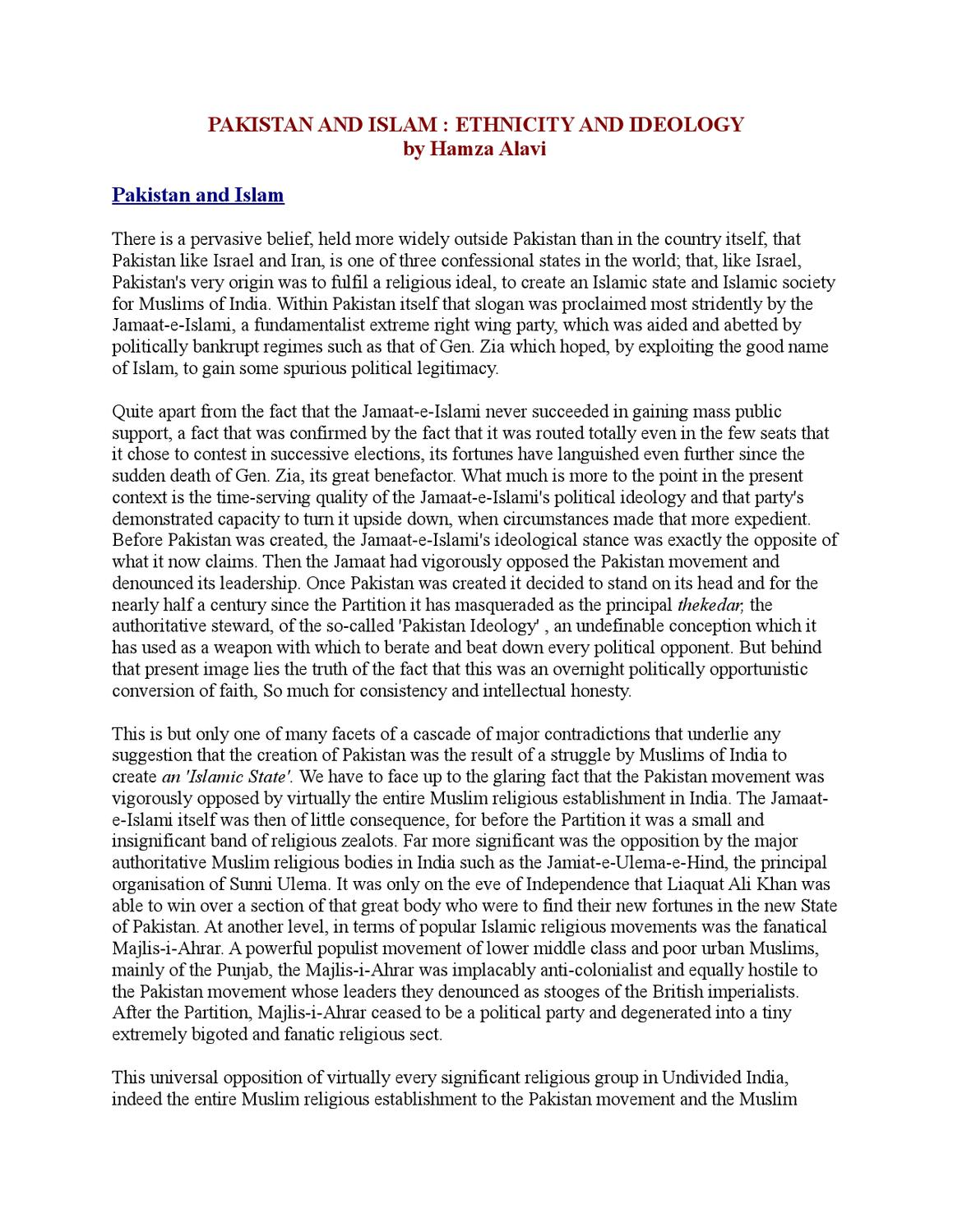 ethnicity in pakistan The politics of ethnicity in pakistan: the baloch, sindhi and mohajir ethnic movements (routledge contemporary south asia series) - kindle edition by farhan hanif siddiqi.