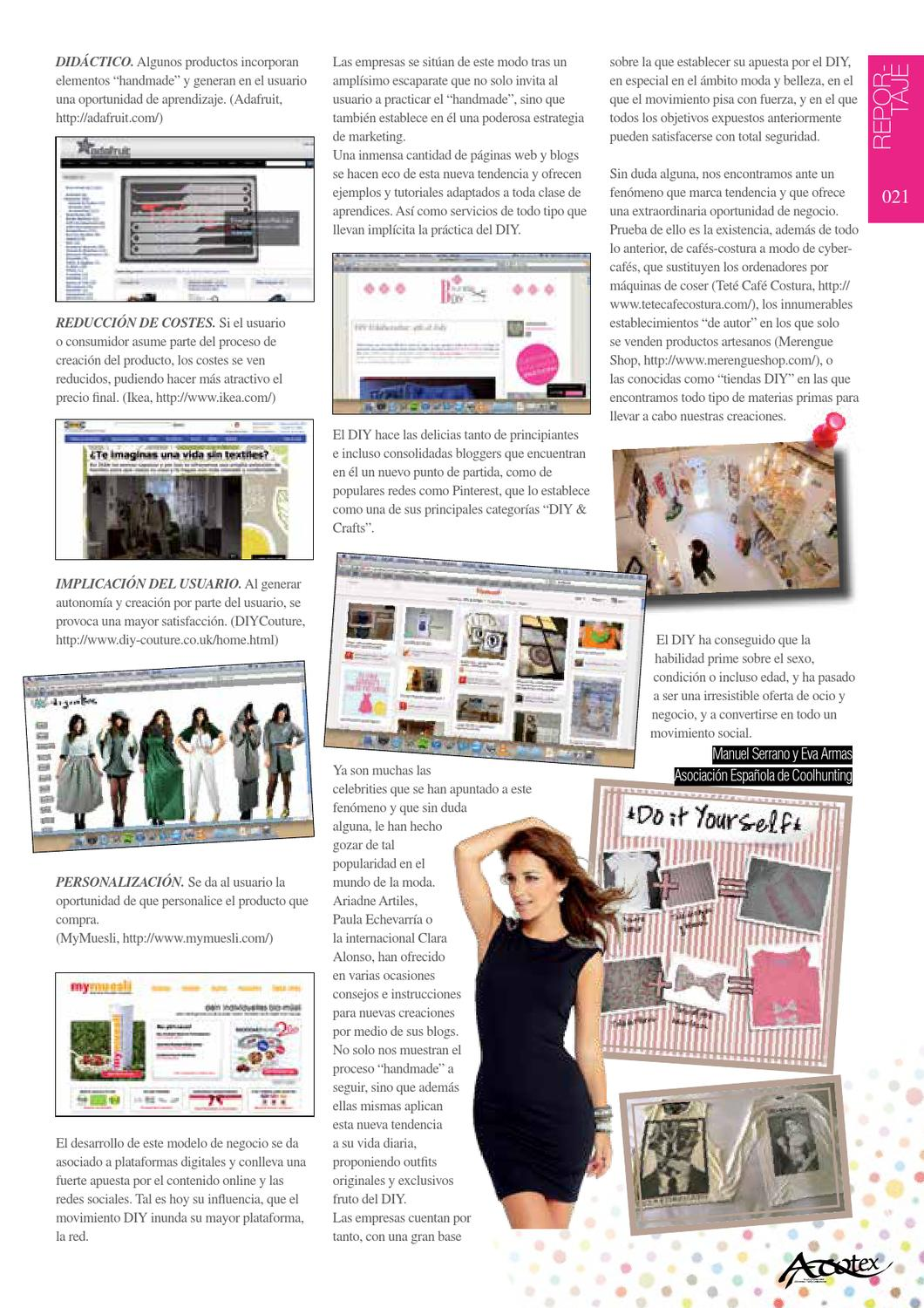 Revista Acotex by Degree in Fashion Communications and Management ...