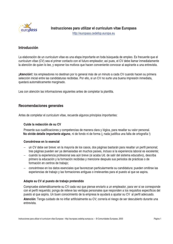 Curriculum Vitae by Noelia Cabello Lozano - issuu