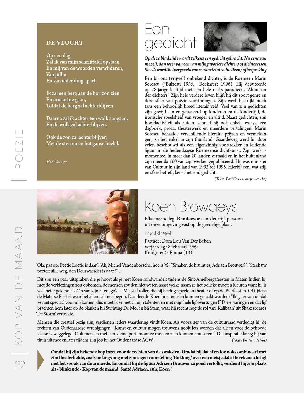 Randeevoe Oudenaarde 29 By Design Publishing Issuu