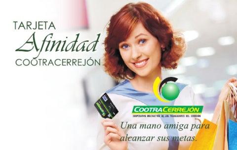 Tarjeta débito Afinidad