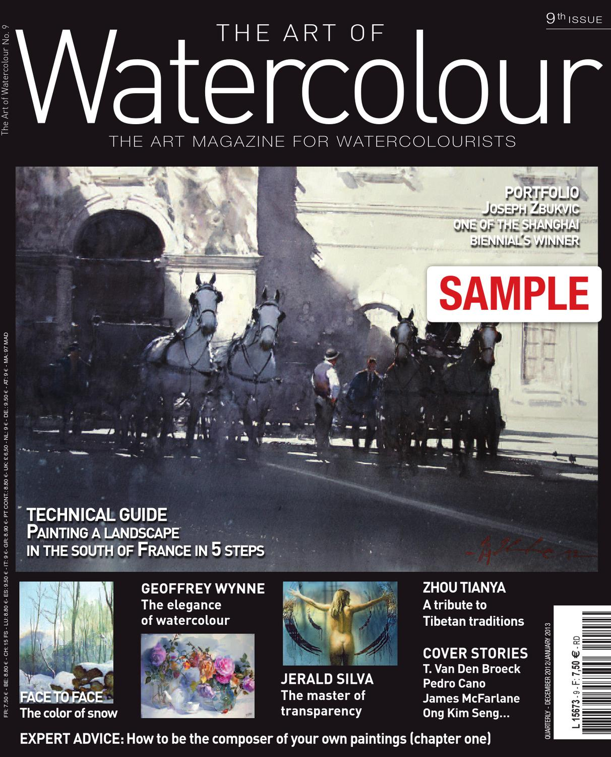 Watercolor artist magazine review - The Art Of Watercolour Magazine 9th Issue
