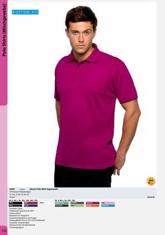 Damen Stretch Piqué Poloshirt Elasthan figurbetont Gr.XS-XXL in 4 Farben K705 Odzież, Buty i Dodatki Bluzki, topy i koszulki