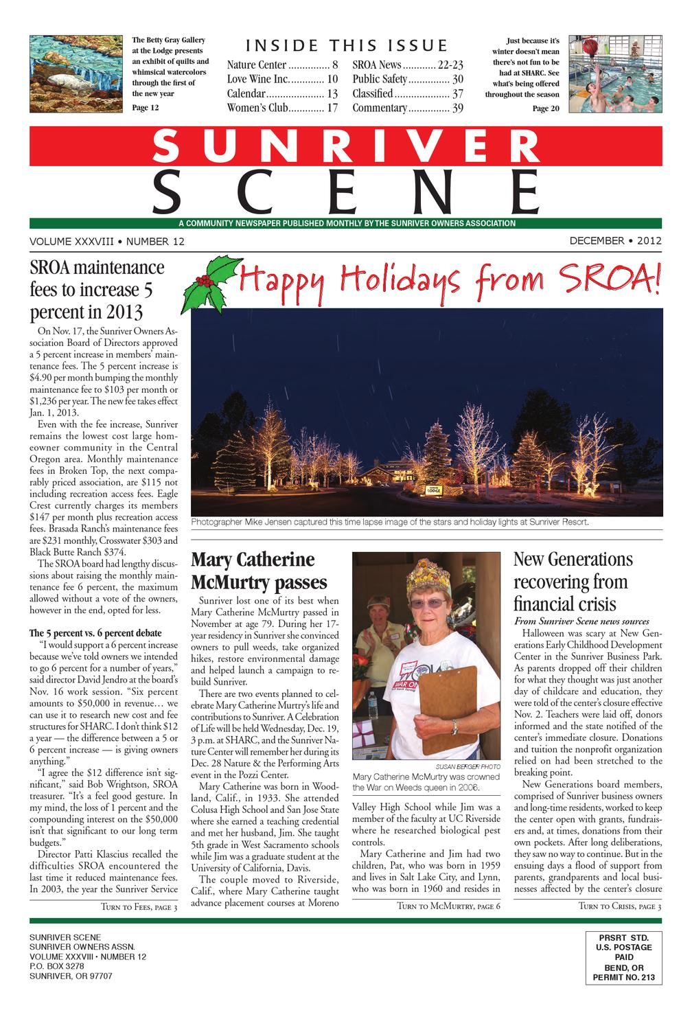 December 2012 Sunriver Scene By Issuu Also Warn Winch Wiring Diagram Moreover Acorn Stair Lift Parts
