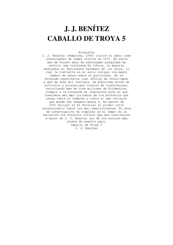 new products 7dfa1 1c5d1 Caballo de Troya 5 by Jorge Pachano - issuu