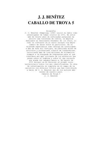 24baf34b1a5 Caballo de Troya 5 by Jorge Pachano - issuu