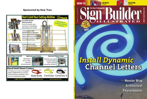 Sign Builder Illustrated December 2012 by Sign Builder Illustrated