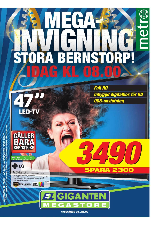 20121127 se malmo by metro sweden issuu for Mobilia mega store salerno
