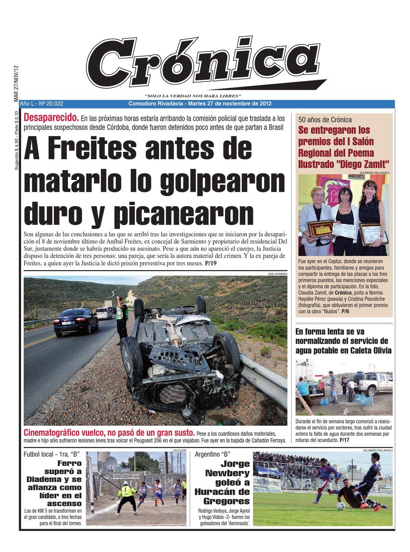 e236c02ed1ec36f08042214dac8608fe by Diario Crónica - issuu
