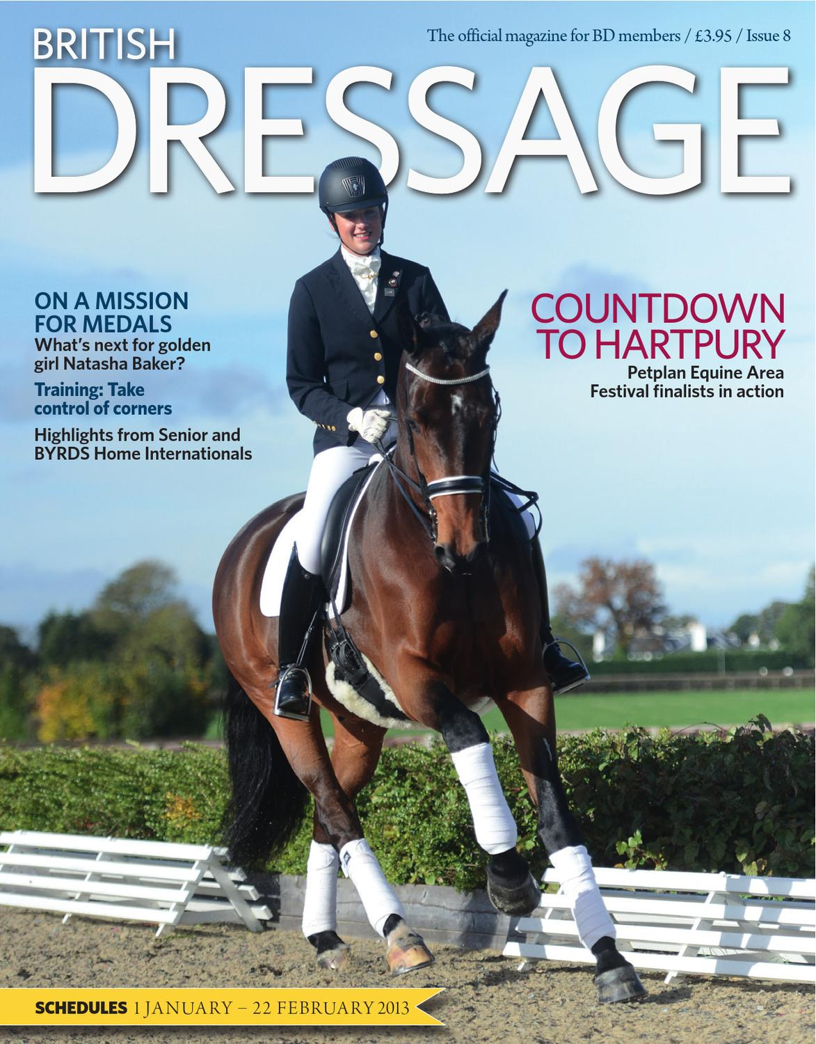 Dressage british rules what to wear