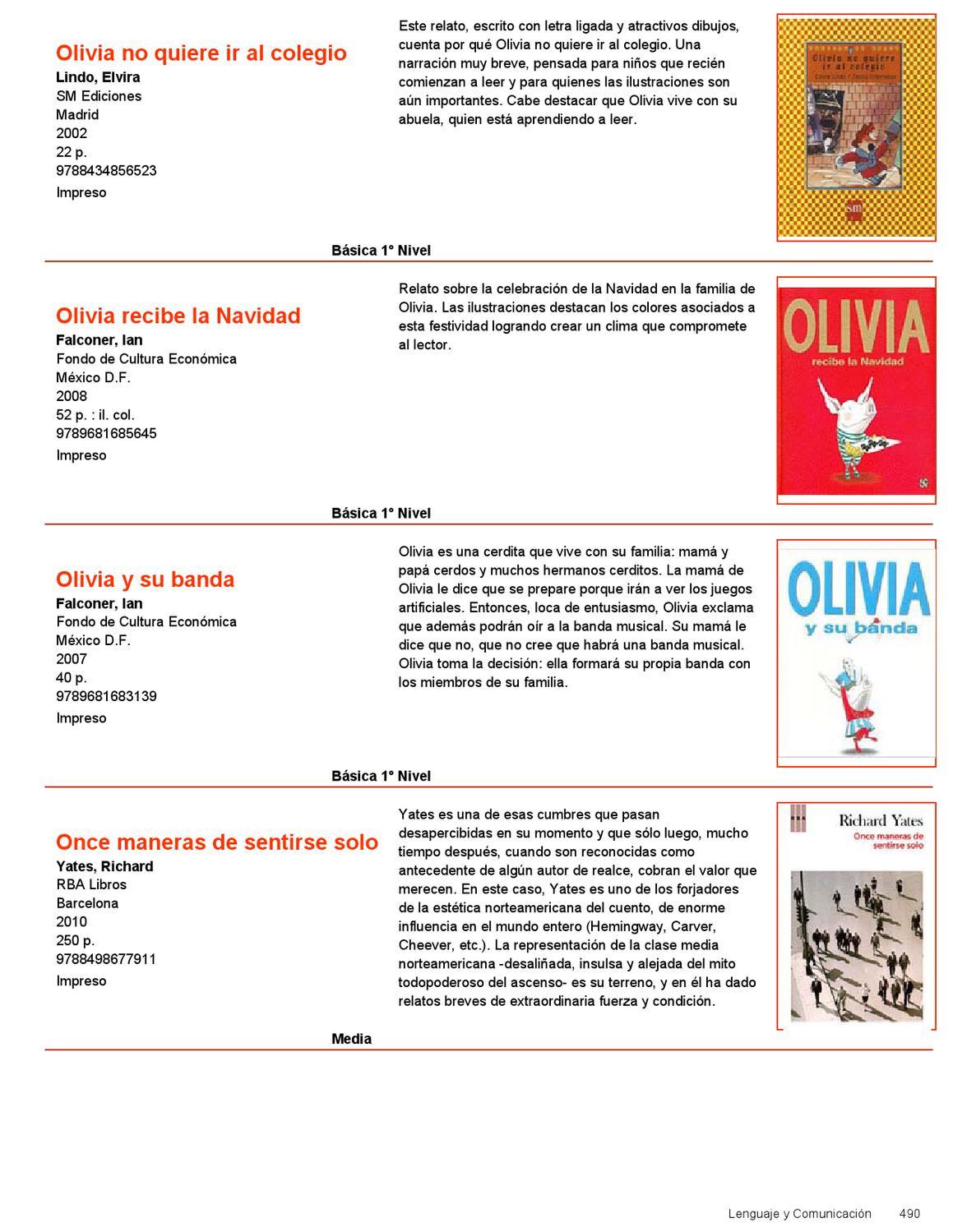 Catalogo Bibliotecas Escolares CRA 2012 Parte 2 by