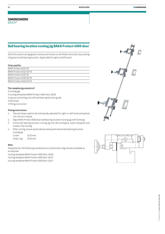 SIMONSWERK BAKA PROTECT 4040 3D FD