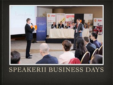 Povestea celor 100 de speakeri de la Bucuresti Business Days 2012 09169ae67404