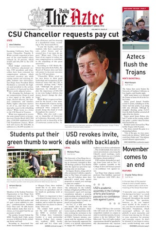 11-27-2012 by The Daily Aztec - issuu