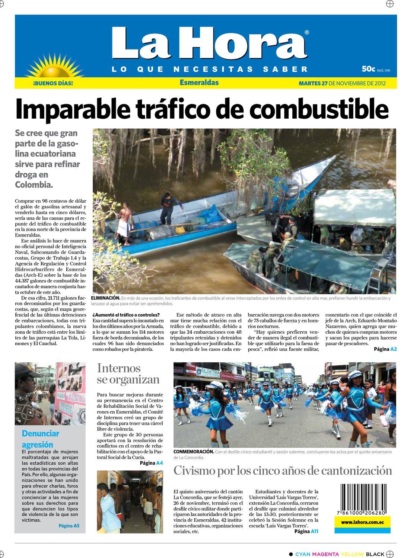Esmeraldas edición del 27 de noviembre de 2012 by Diario La Hora Ecuador -  issuu c3a640e43db