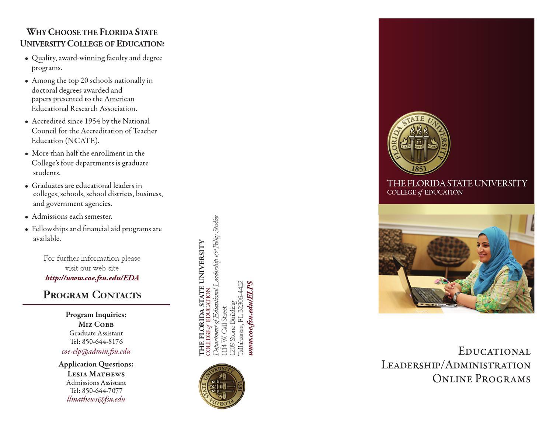 Doctorate In Educational Leadership Information