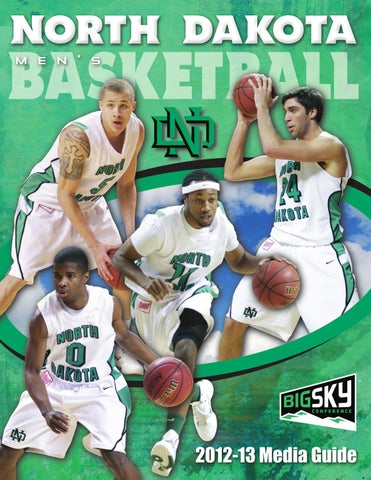557019ae7 2012-13 University of North Dakota men s basketball media guide by ...