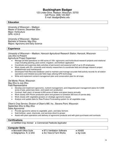 Resume Book by Career Services - issuu