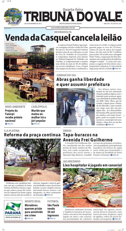 07e0e02b38bd7 TRIBUNA DO VALE - EDIÇÃO Nº 2278 by Tribuna do Vale - issuu