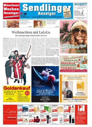 Kw 48 2012 By Wochenanzeiger Medien Gmbh Issuu