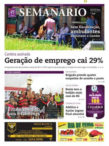 99aca5b3060 28 11 2012 - Jornal Semanário by Jornal Semanário - Bento Gonçalves ...
