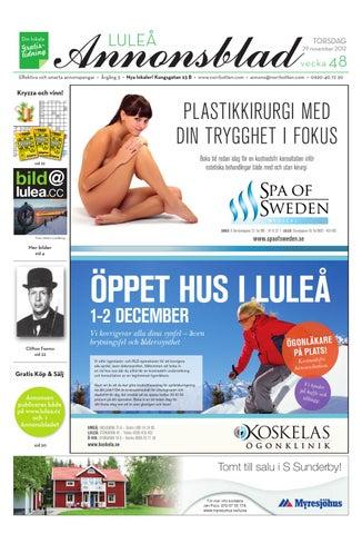 Norrbottens Annonsblad - Lulea 2012 v.48 by Svenska Civildatalogerna ... 93e5fb52aa22f