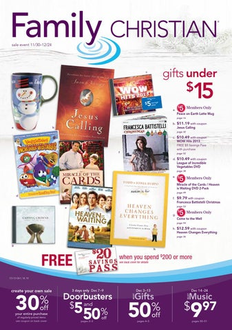 462539255eedc Family Christian Christmas Catalog by Family Christian Stores - issuu