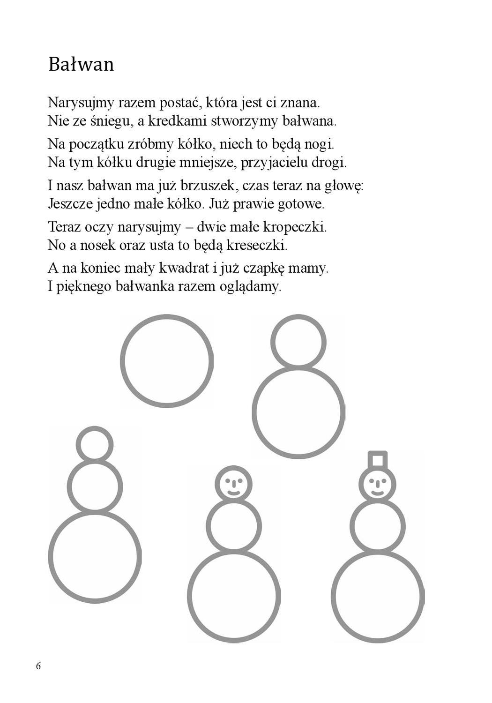 Wierszyki Do Rysowania By Wydawnictwo Harmonia Issuu