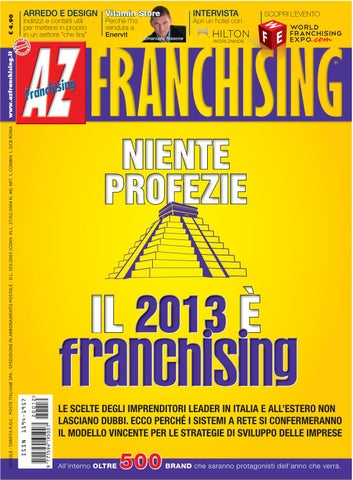 AZ Franchising dicembre 2012 by AZ Franchising - issuu 65c604b8881