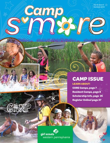 Girl scouts western pennsylvania by tungsten creative group issuu gswpa camp smore summer 2013 magazine publicscrutiny Image collections