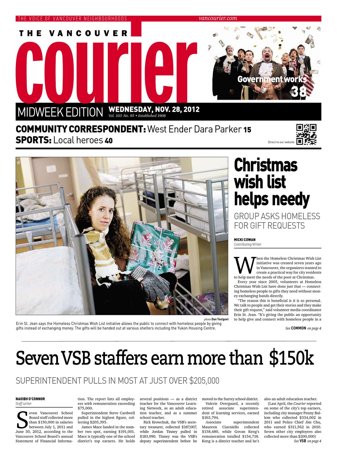 Vancouver Courier November 28 2012 By Glacier Digital Issuu Bambi Zipper Pockets Wallets 5176 A4