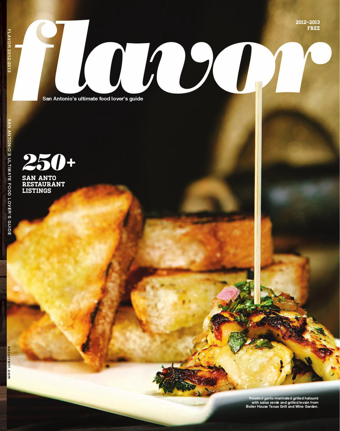 Flavor 2012 By San Antonio Current Issuu