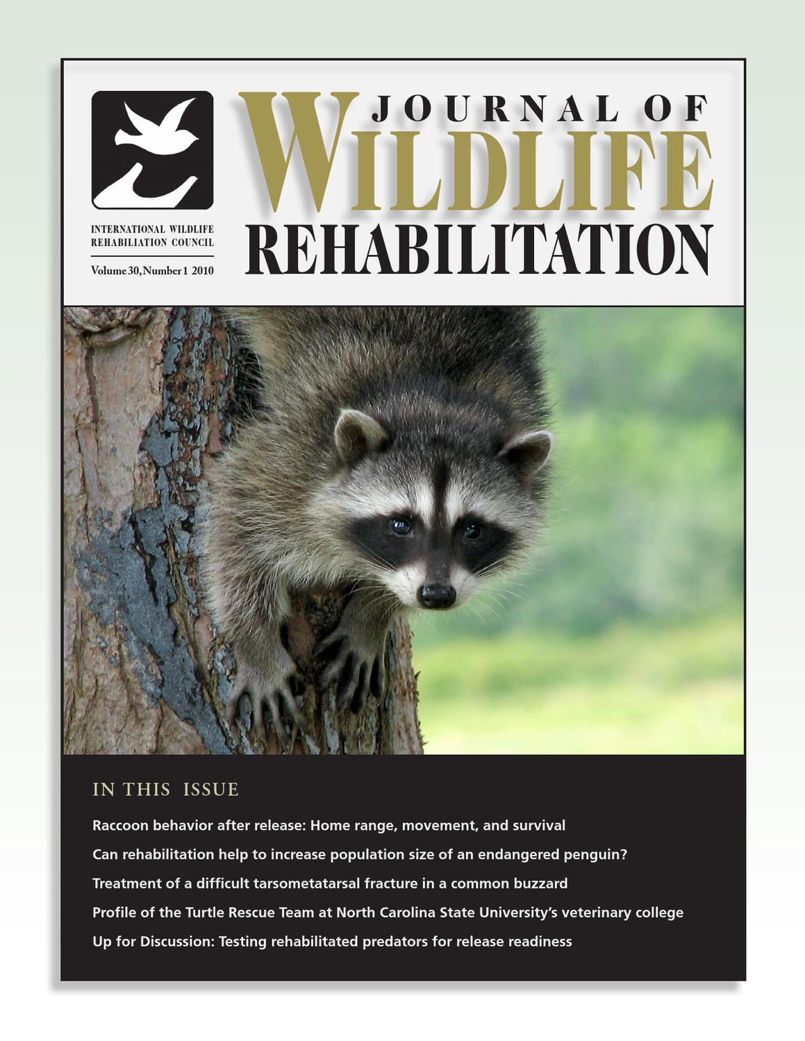 JWR Volume 30 Issue 1 by The International Wildlife