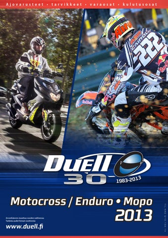 Motocross   Moped 2013 - Duell by Duell Bike-Center Oy - issuu 3ef310609b
