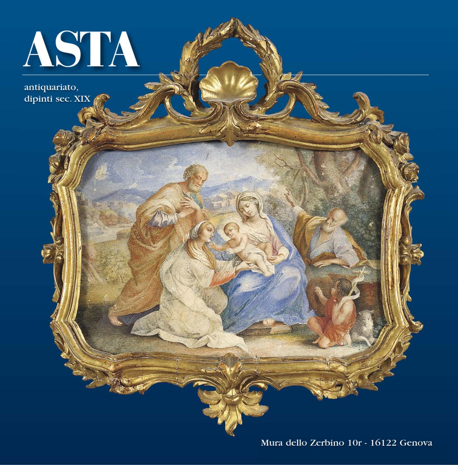 Asta di antiquariato e dipinti antichi by aste boetto issuu for Antiquariato vendita
