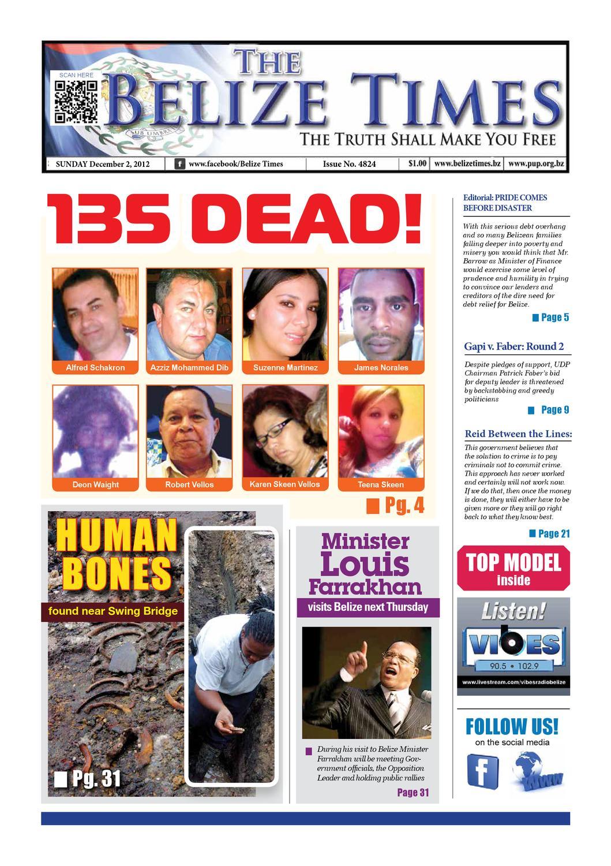 Belize Times December 2, ...