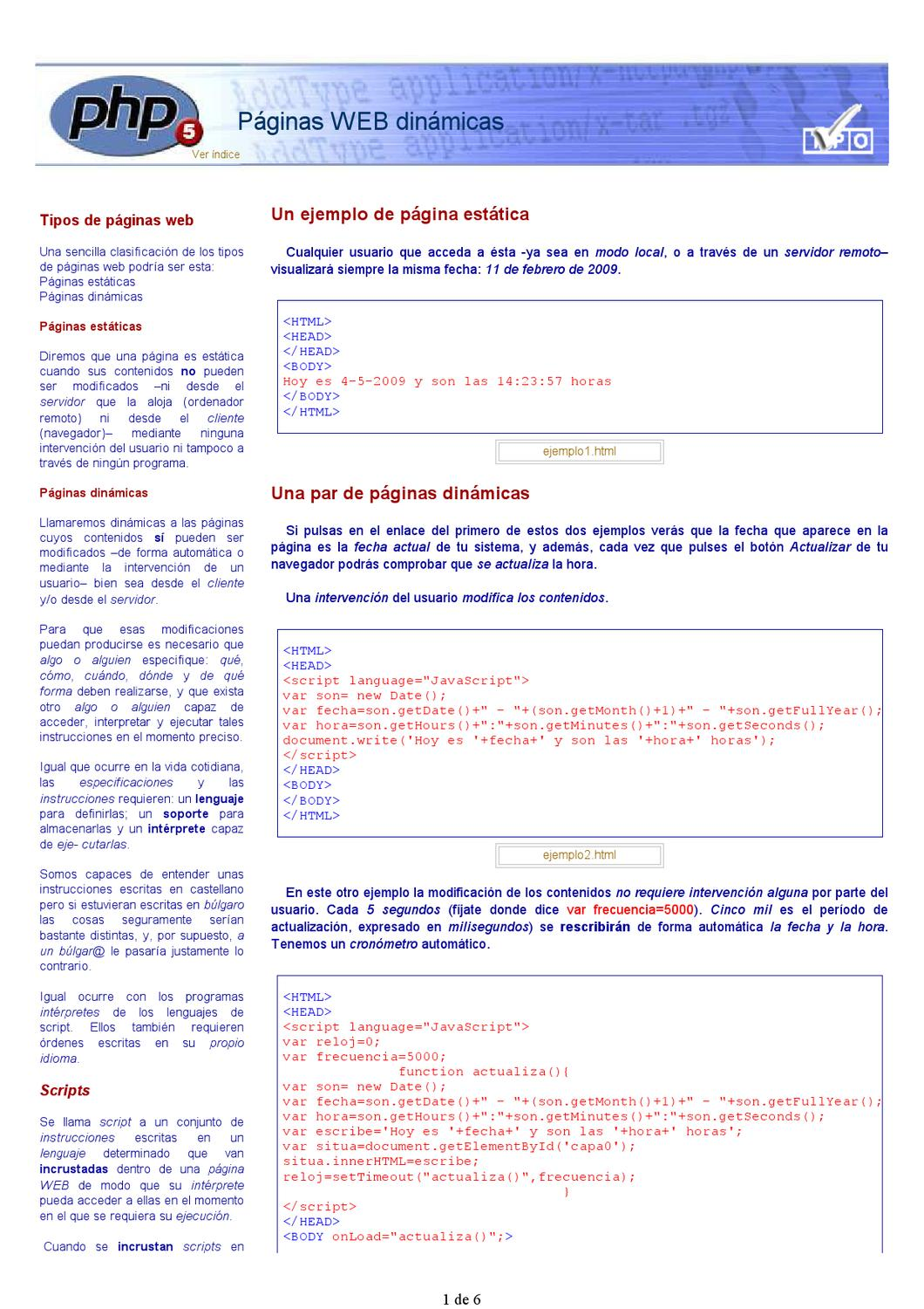 Curso PHP by Javier del Rey - issuu