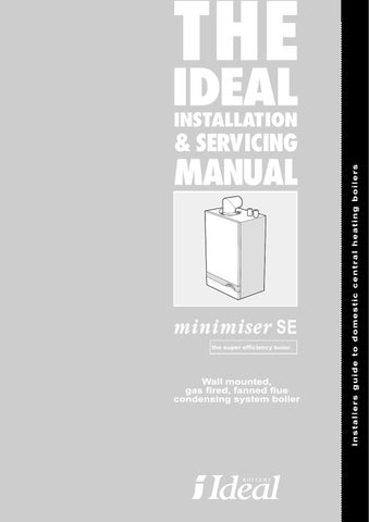 Ideal Boiler Manual by Sudhir Jethwa - issuu on
